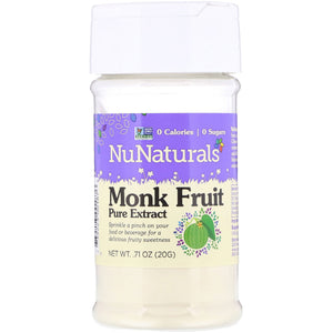 Nu Naturals Monk Fruit Pure Sweetener Powder