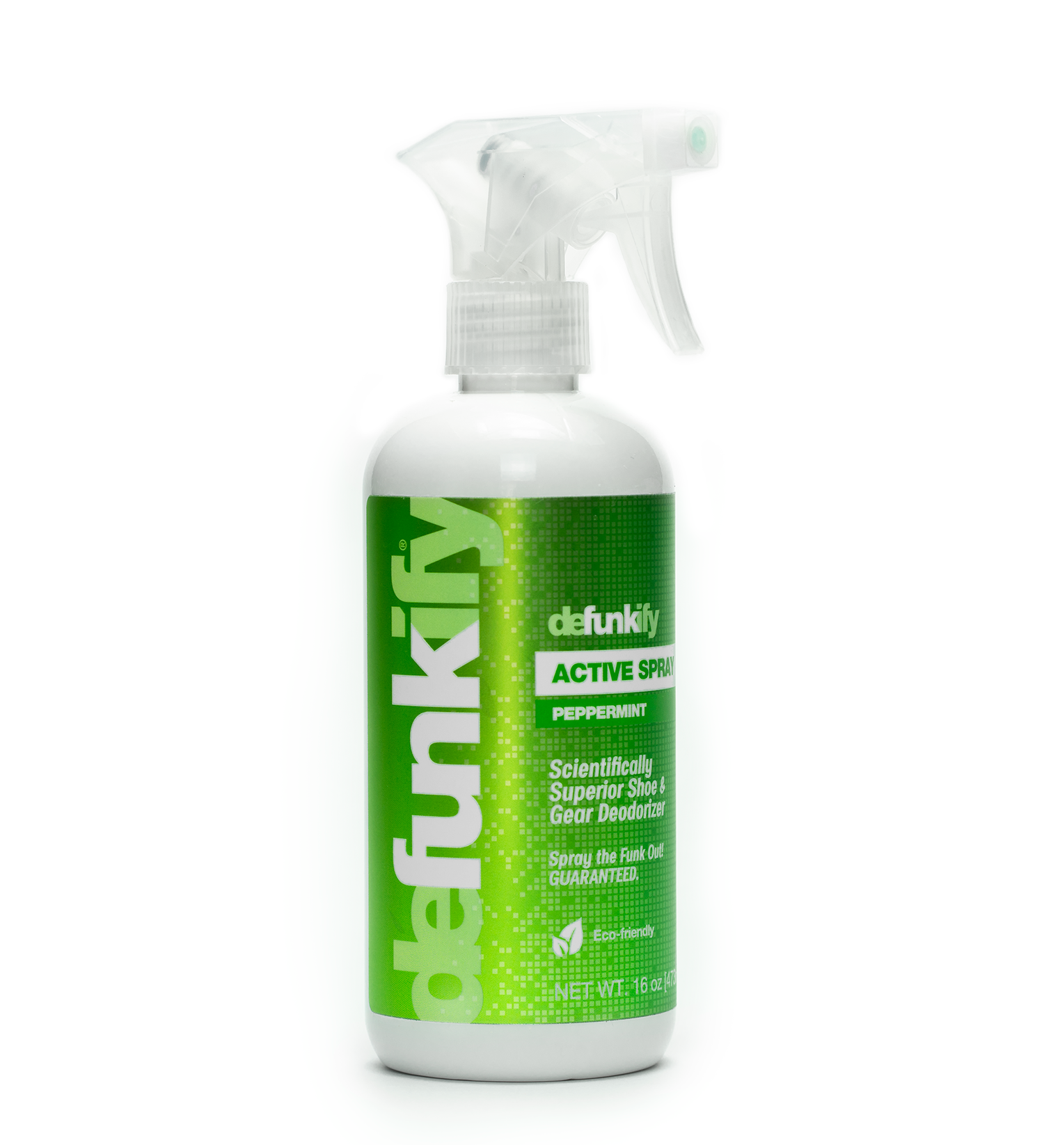 Defunkify Peppermint Fabric • Shoe • Gear Deodorizer Spray
