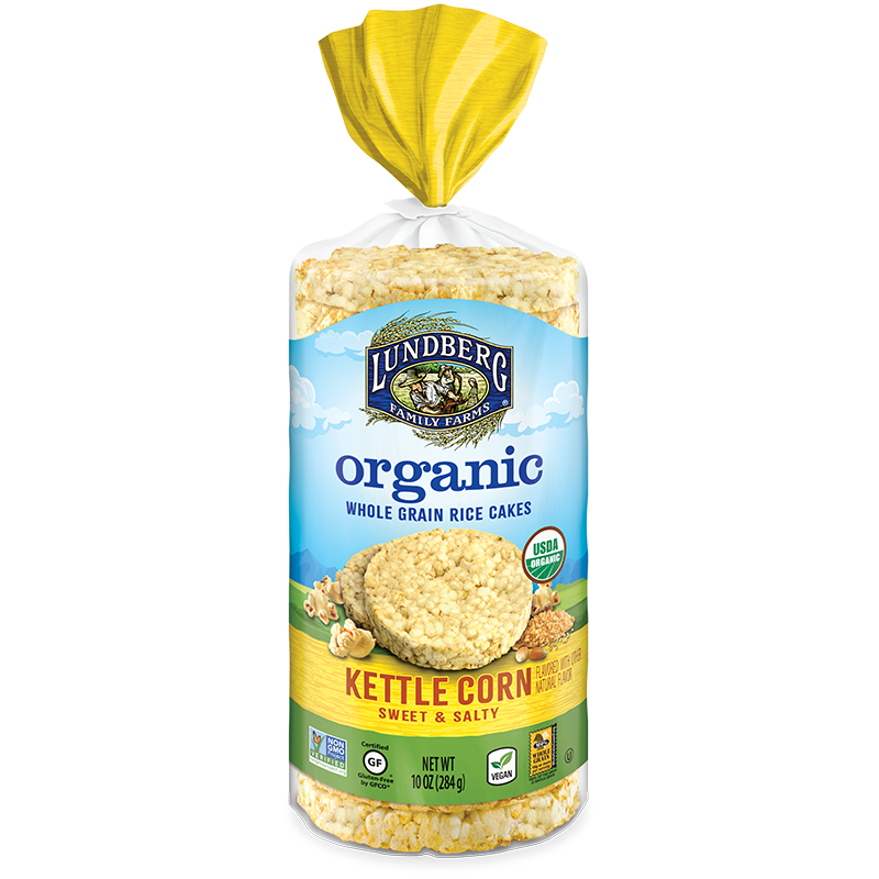 Lundberg Family Farms Organic Brown Rice Cake Kettle Corn