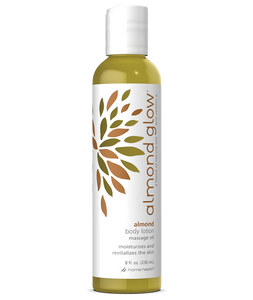 Almond Glow Massage Oil and Body Lotion Almond Scent