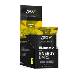 ATAQ by Mode Energy Bars Banana Nut