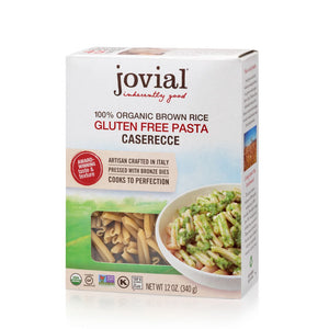 Jovial Organic Brown Rice Caserecce
