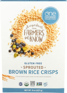 One Degree Sprouted Brown Rice Crisps