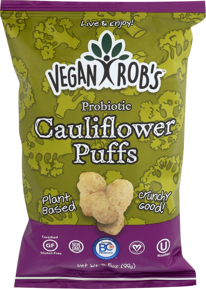 Vegan Rob's Cauliflower Puffs