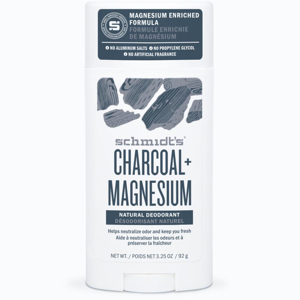 Schmidt's Charcoal & Magnesium Mineral Enriched Natural Deodorant