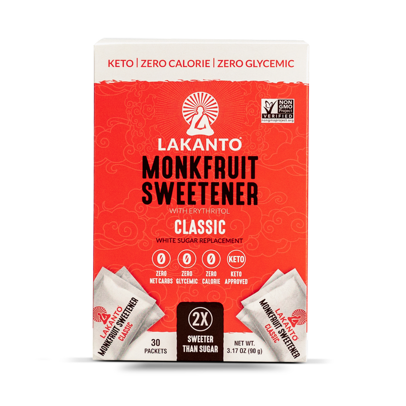 Lakanto Classic Monkfruit Sweetner 30 count
