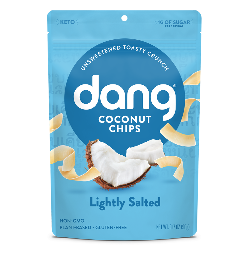 Dang Coconut Chips, Unsweetened & Lightly Salted