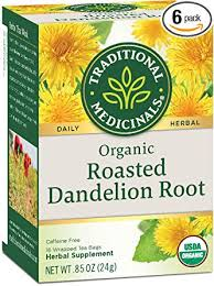 Traditional Medicinals Roasted Dandilion Tea