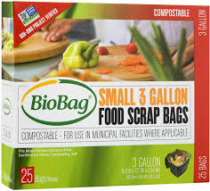 BioBag 3 Gallon Food Scrap Bag (25)