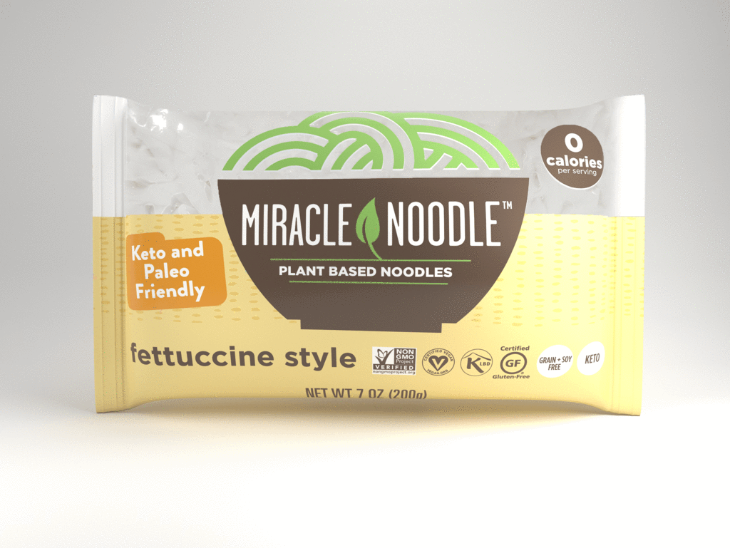 Miracle Noodles Fettuccine