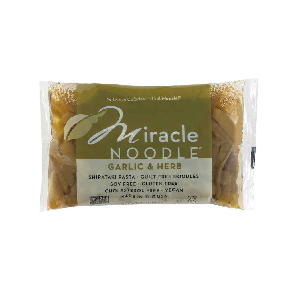 Miracle Noodle Garlic and Herb Pasta