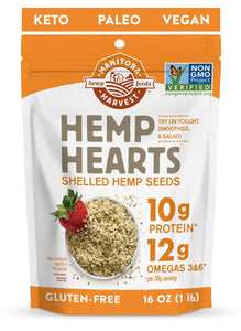 Manitoba Harvest Shelled Hemp Heart Seeds