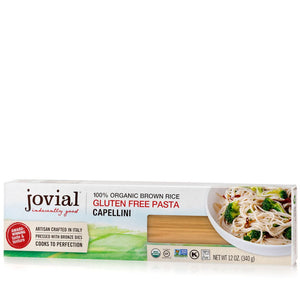 Jovial Organic Brown Rice Capellini Pasta