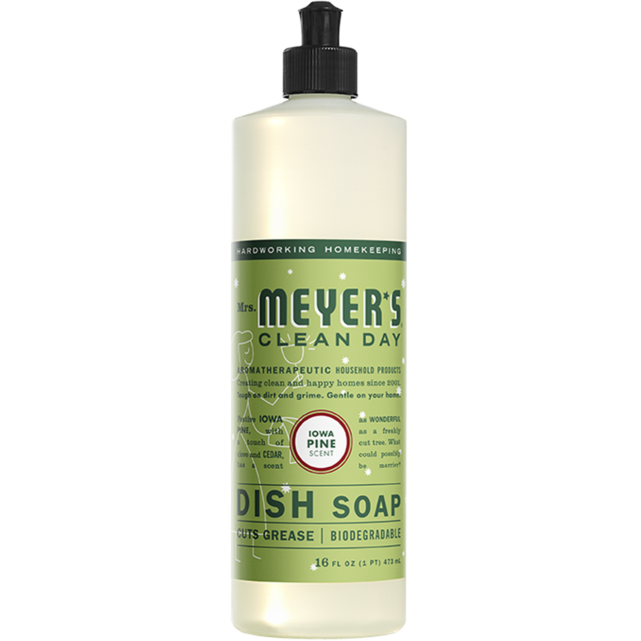 Mrs. Myer's Liquid Dish Soap Pine