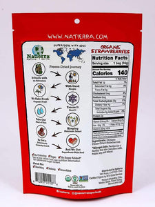 Natierra Organic Freeze Dried Strawberries