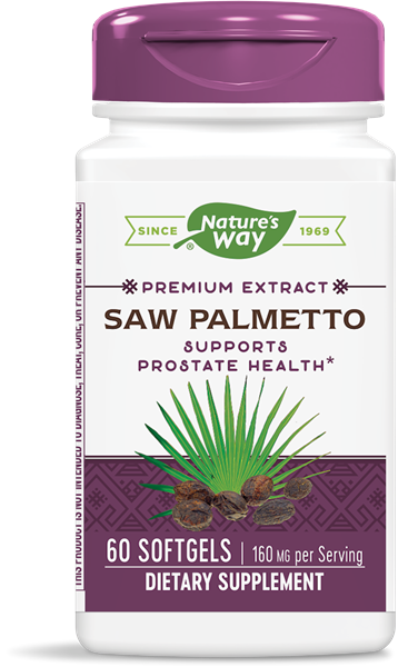 Nature's Way Saw Palmetto Extract