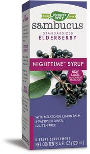 Nature's Way Sambucus Elderberry Night Time Syrup