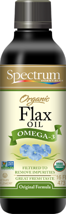 Spectrum Essentials Organic Flax Oil