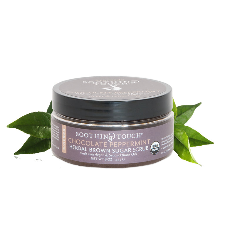 Ayurveda Soothing Touch Chocolate Peppermint Brown Sugar Scrub