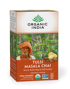 Organic India Tulsi Masala Chai Tea