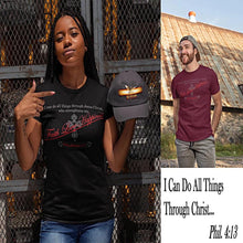 Load image into Gallery viewer, I Can Do All Things Through Christ Unisex T-Shirt