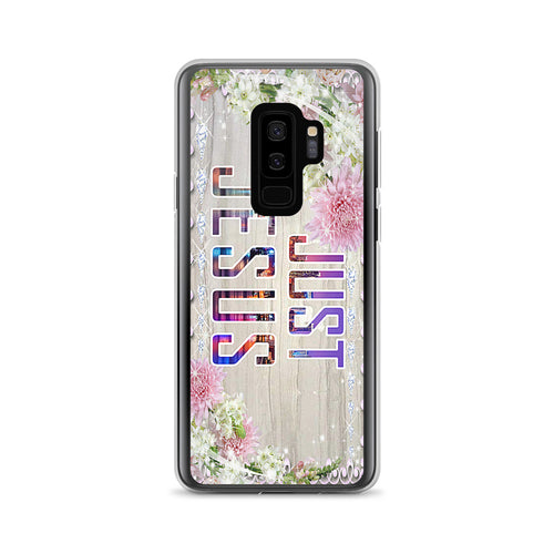 Just Jesus Cute Samsung Case by Fellowship In The Word