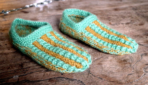 Open image in slideshow, Knitted  ° slippers