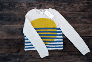 Open image in slideshow, Sun°¬ Stripe Wool Sweater