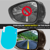 Anti-Fog/Rain Car Mirror Film - 2 Pc Set