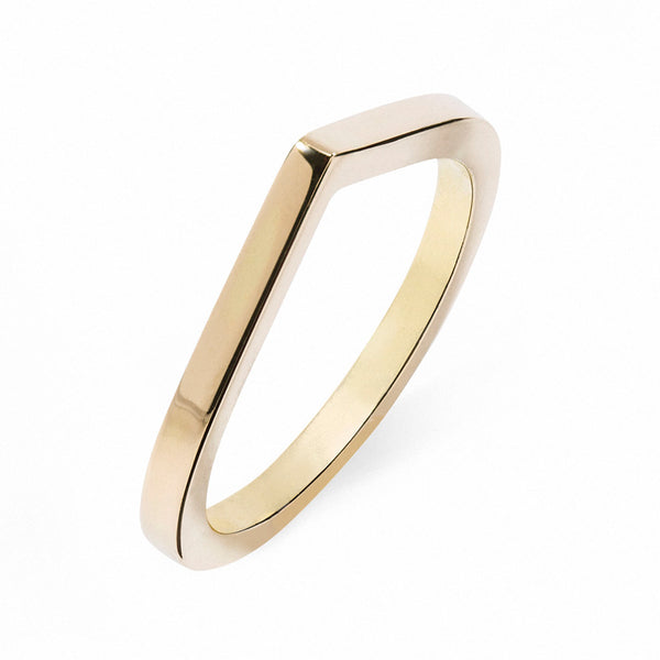 FAVOURITES Dawn Large 18Ct Gold Ring