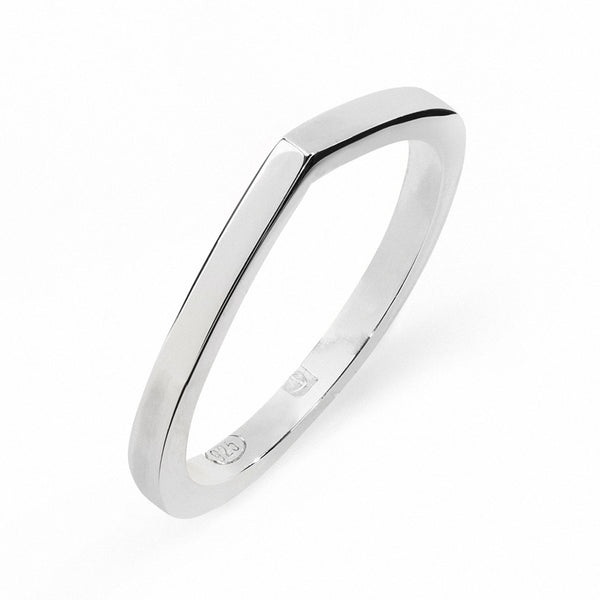 FAVOURITES Dawn Large Ring Silver