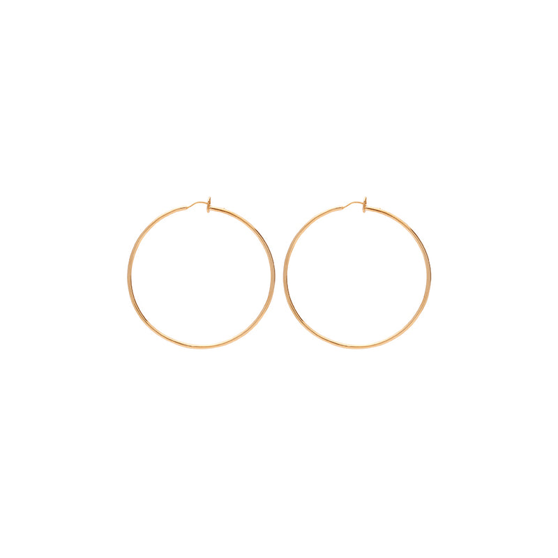 CLASSIC Hoops 18Ct Gold Plated