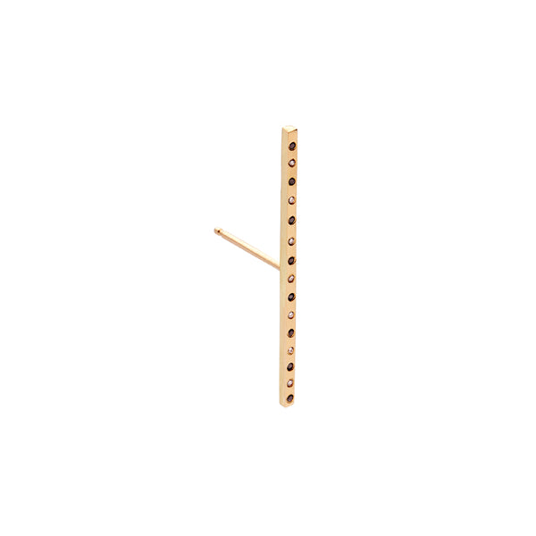 The Classic Bar Long 18Ct Gold with Diamonds