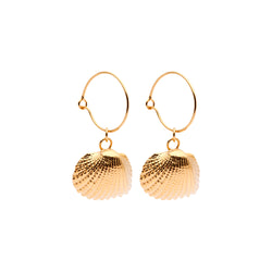 OCEANIA Ark Hoops 18Ct Gold Plated