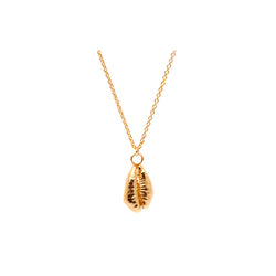 OCEANIA Cowrie Necklace 18Ct Gold Plate