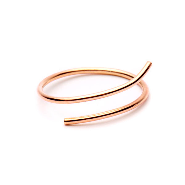FAVOURITES Essence Ring 18Ct Rose Gold