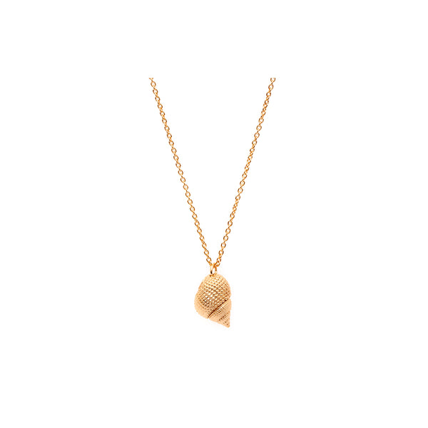 OCEANIA Whelk Necklace 18Ct Gold Plate