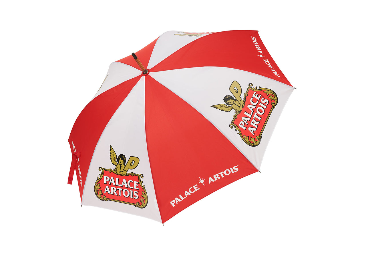PALACE STELLA ARTOIS UMBRELLA WHITE / RED