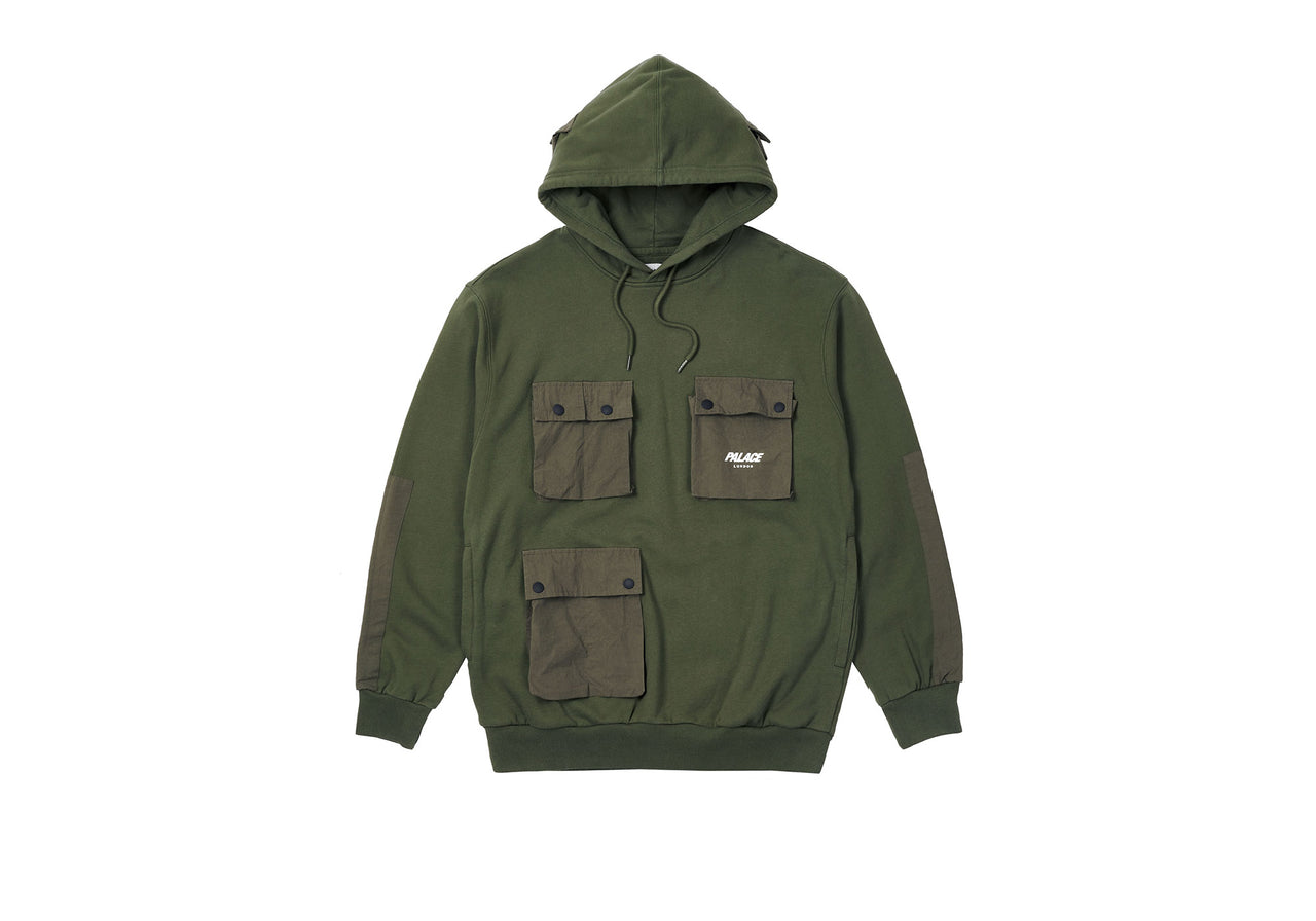 C-POCKET HOOD GREEN