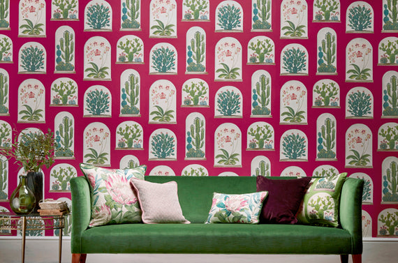 Sanderson Glasshouse Wallpaper Collection