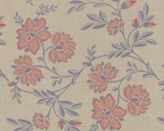 Little Greene Stitch Berry 0247STBERRY Wallpaper