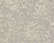 Little Greene North End Road Warm Silver 0282NEWARMS Wallpaper