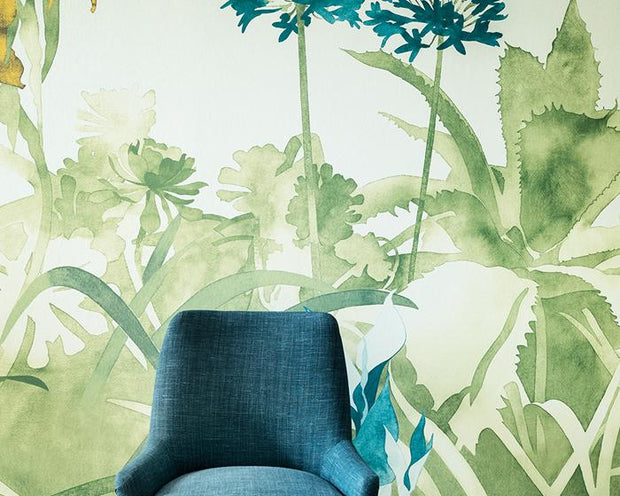 Paint & Paper Library Aloe Walk Ice PPAWIC Wallpaper