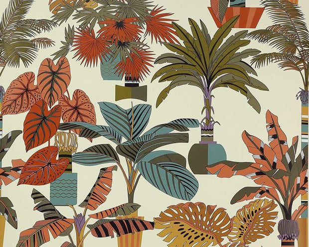 Manuel Canovas Florida Tabac 03100-03 Wallpaper