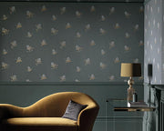 Paint & Paper Library Buds Sharkskin PPBUSS Wallpaper