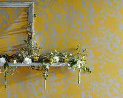 Harlequin Coquette Lemon 111483 Wallpaper