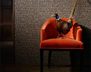 Zoffany Icarus Copper/Pheasant 312674 Wallpaper