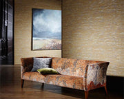 Zoffany Kempshott Plain Stone 312631 Wallpaper