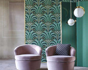 Zoffany Conway Poison 312745 Wallpaper