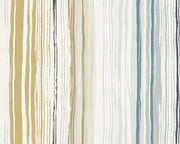 Scion Zing Denim/Ochre/Slate 110826 Wallpaper